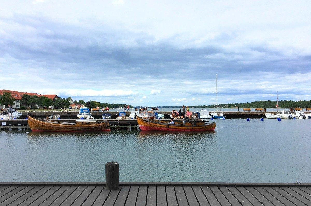 Västervik innerer Hafen