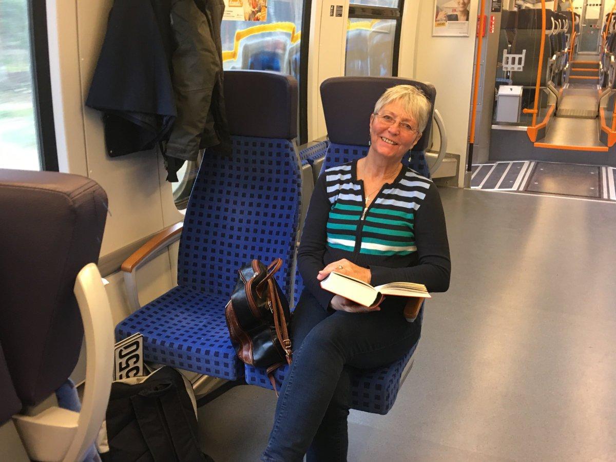 Bahnfahrt nach Ludwigslust