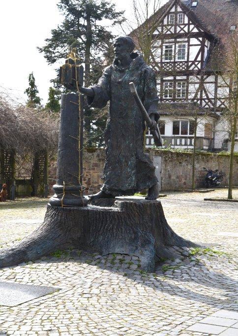 Bonifatius Statue in Fritzlar