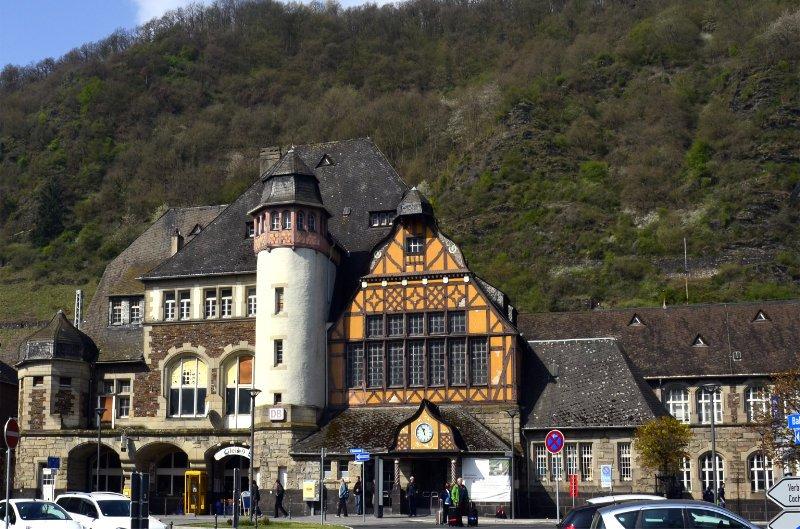 Der historische Cochem Bahnhof-LR