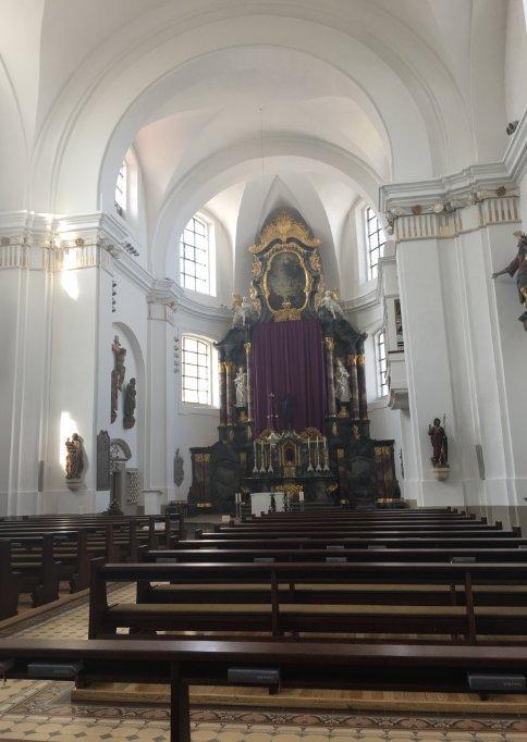 Das Innere der Stadtkirche