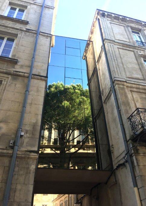 Glassfassaden-Spiegelung