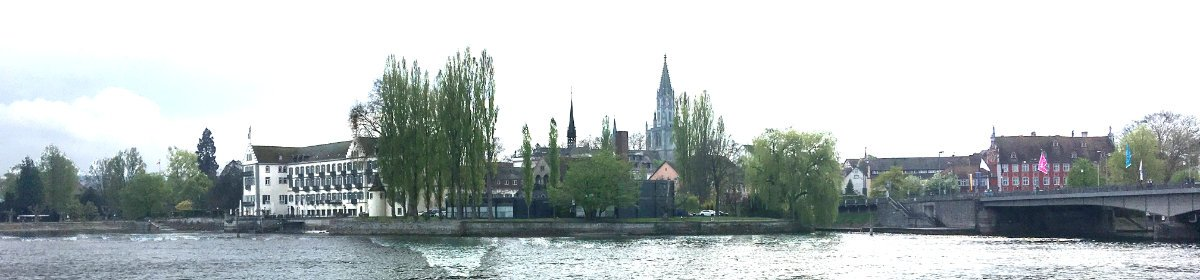 Konstanz Stadtsilhouette