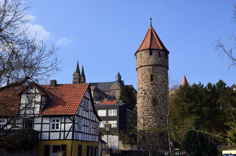 Mittelalterliches Stadtbild