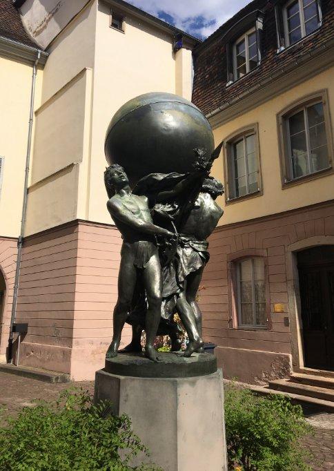 Bartholdi Skulptur