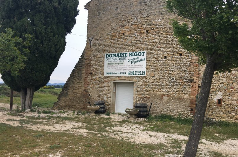Weingut Domaine Rigot in der Provence