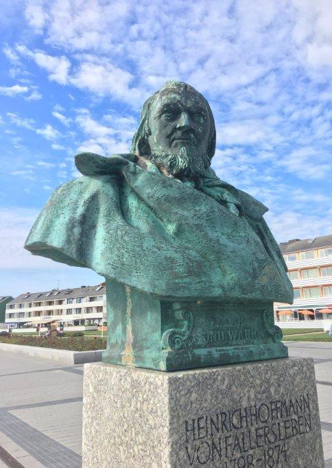 Büste Hoffmanns von Fallersleben