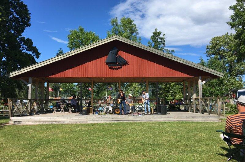 Blueskonzert in Sjötorp
