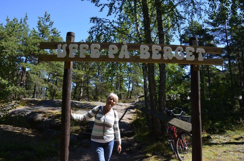 Toreingang zu Uffe på Berget