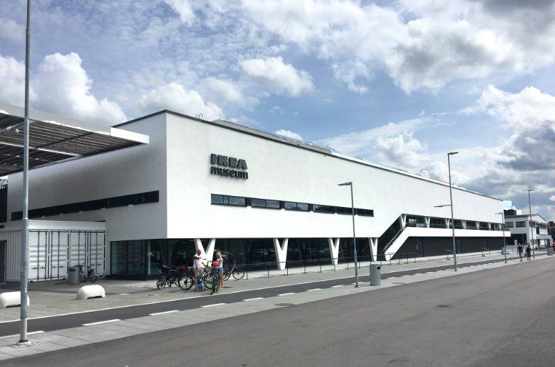 Das IKEA-Museum (ursprüngliches Einrichtungshaus)