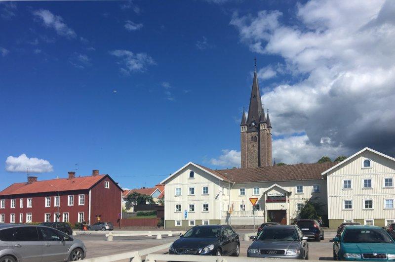Die Kirche in Mariestad