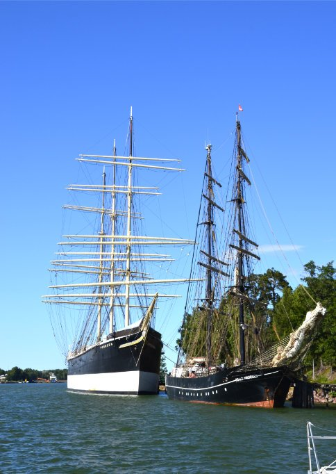 Die Pommern und die Roald Amundsen