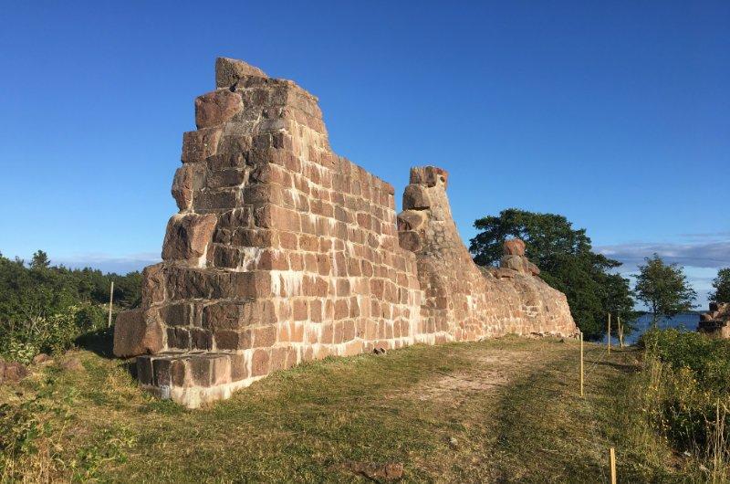 Reste der Festungsmauer
