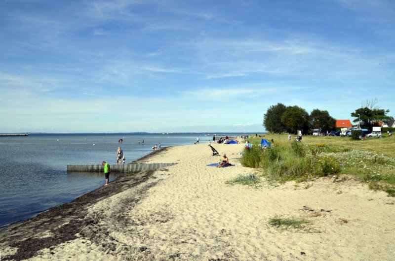 Strand in Wackerballig