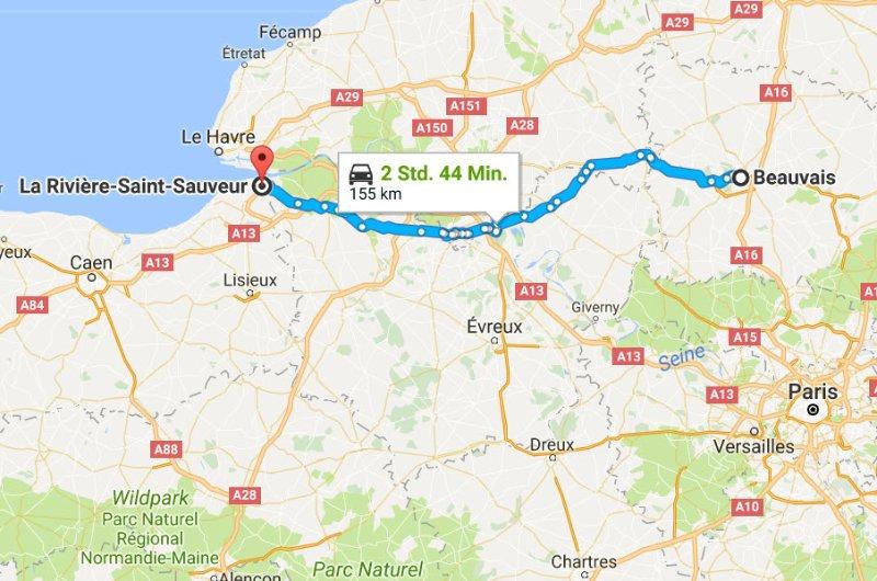 Beauvais - La-Rivière-St.-Sauver