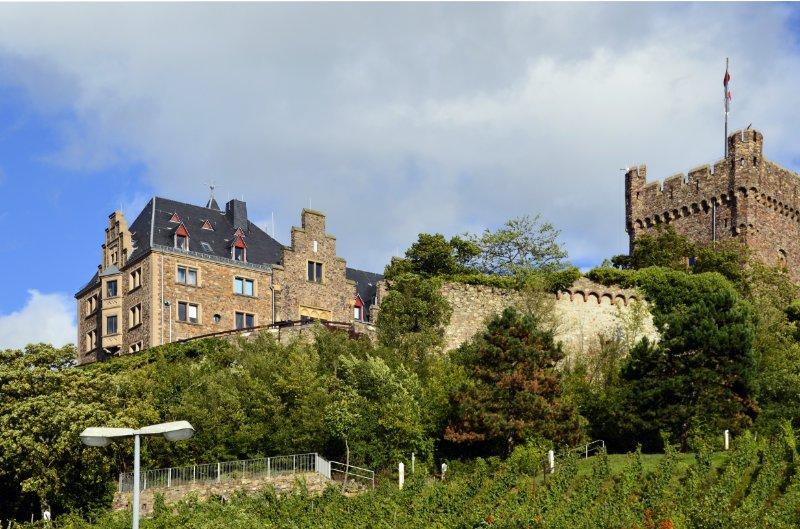 Burg Klopp - Bingener Stadtverwaltung