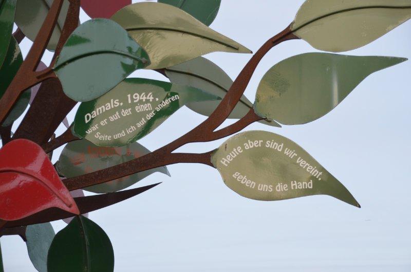 Der Baum der Freiheit in Ouistreham