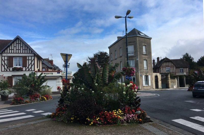 Im Zentrum von Luc-sur-Mer