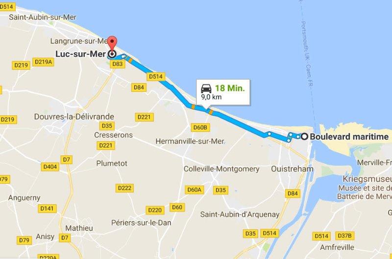 Ouistreham - Luc-sur-Mer