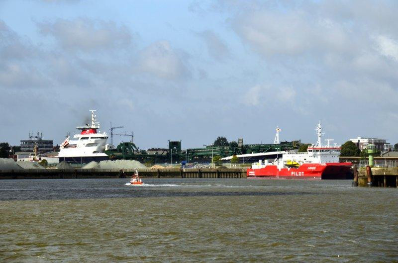 Zwischenstopp Cuxhafen