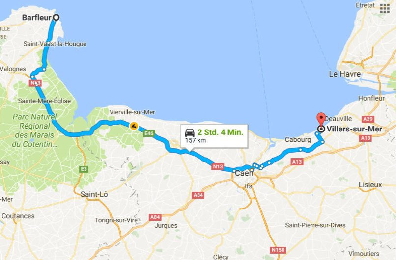 Barfleur - Villers-sur-Mer
