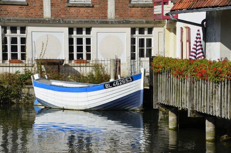 Der kleine Teich beim Hotel de la Plage