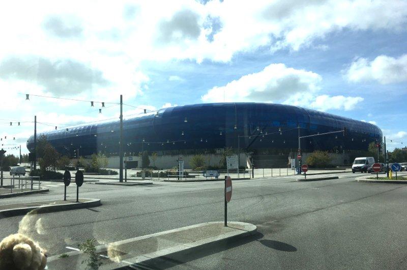 Das riesige Stade Océanic in Le Havre
