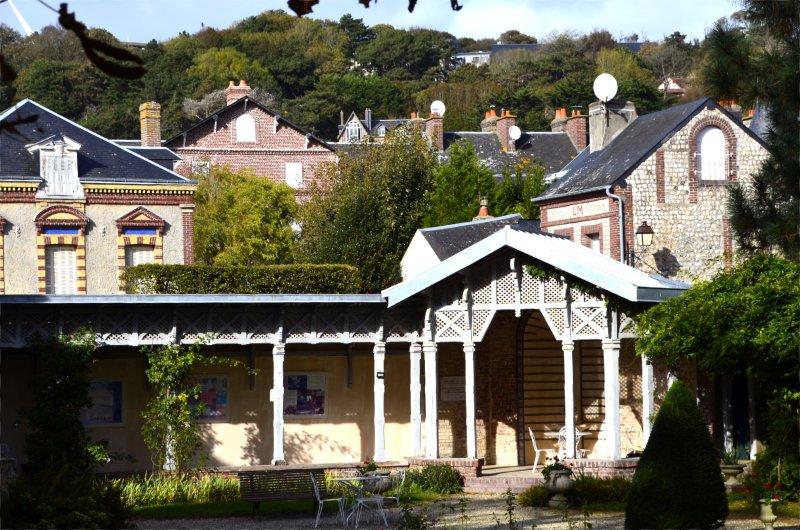 Garten des Schriftstellers Maurice de Blan