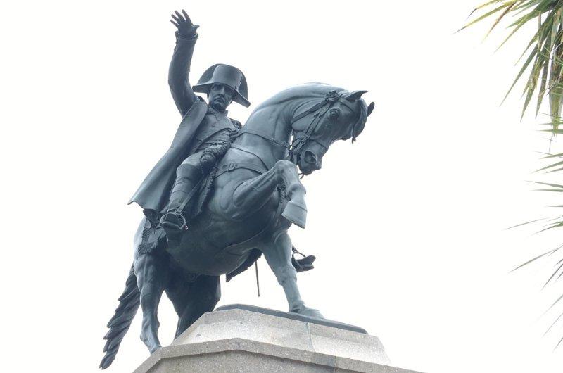Napoleon Reiterstatue