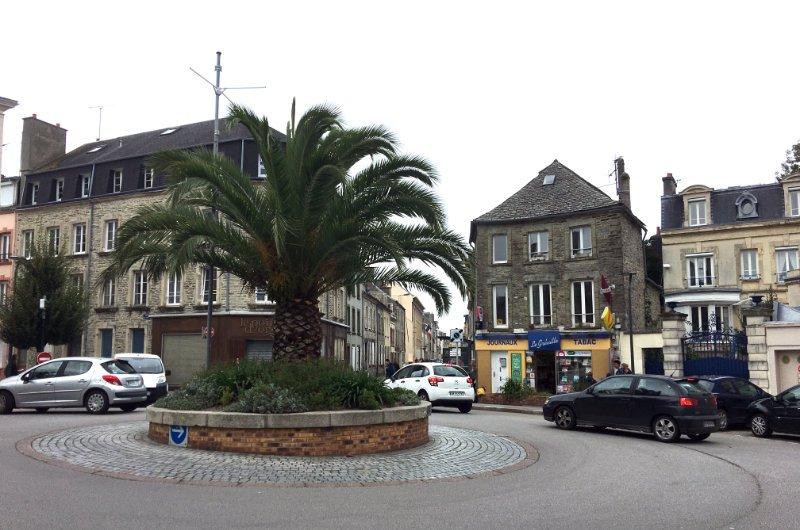 Palmen mitten in der Stadt