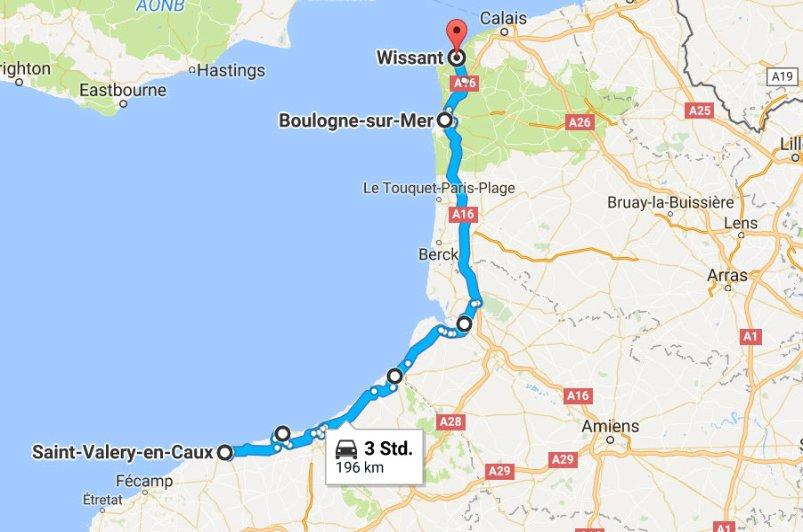 St.-Valery-en-Caux - Boulogne-sur-Mer - Wissant