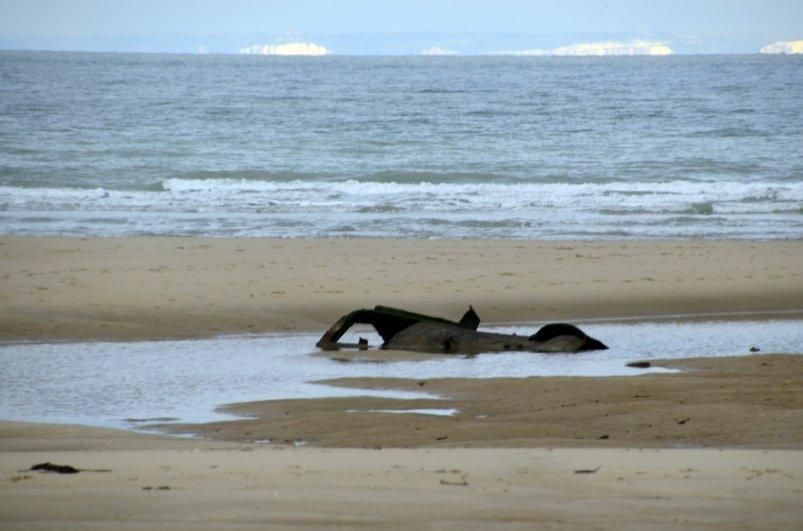 Strandgut in Wissant und englische Küste
