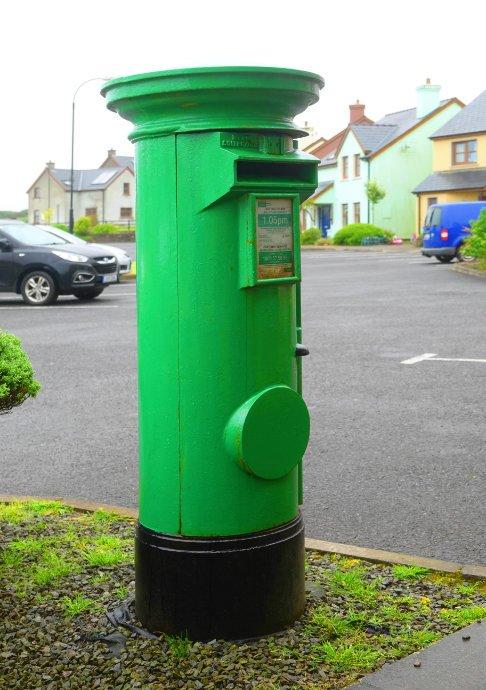 Irischer Briefkasten
