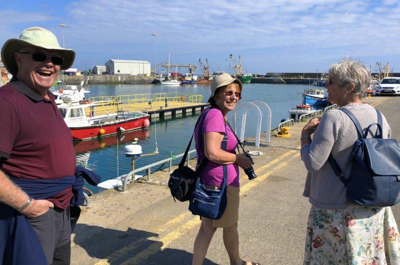 Mit Dave und Diane