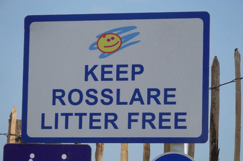 Sauber Kampagne in Rosslare