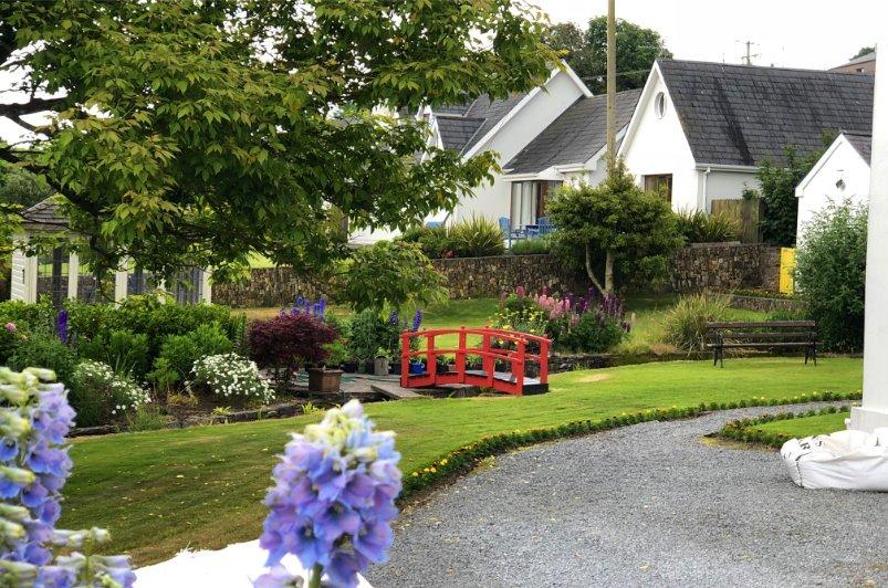 Schöner privater Garten