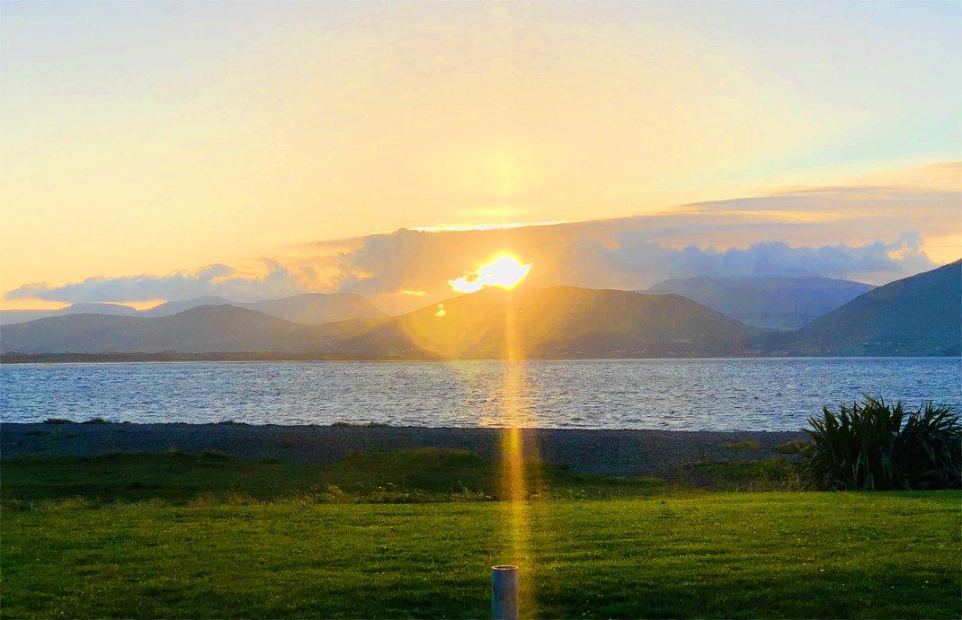 Sonnenuntergang in Cromane
