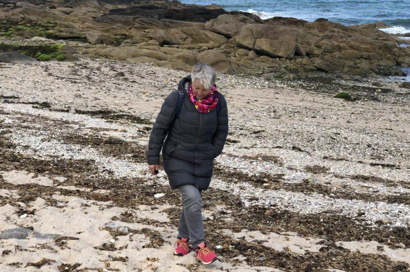 Anne, die Strandläuferin