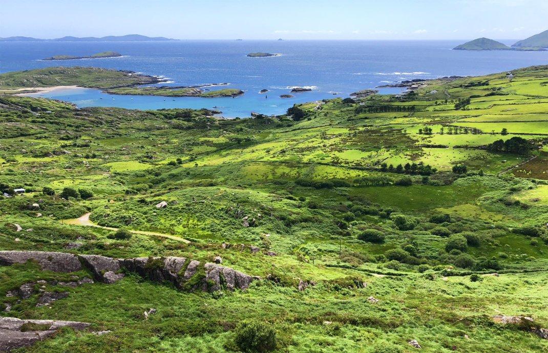 Westküste der Kerry Halbinsel