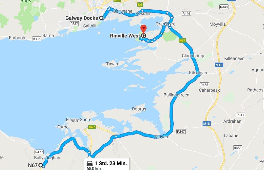 Burren Coast - Galway - Rinville West