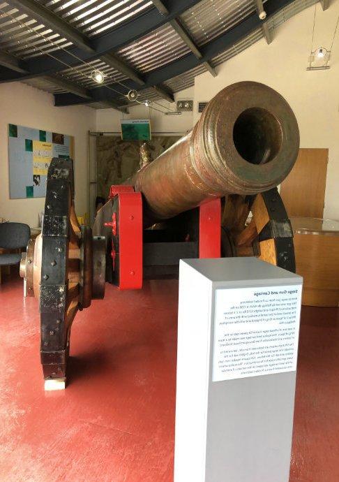 Kanone von der Armada