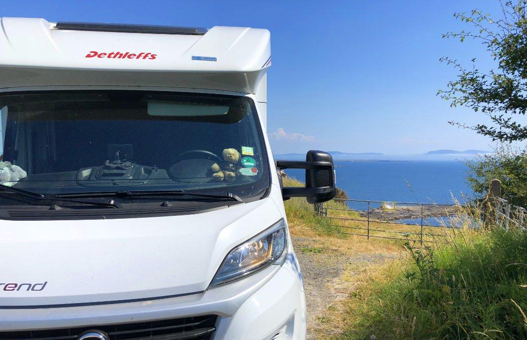 Pause an der Bucht von Sligo
