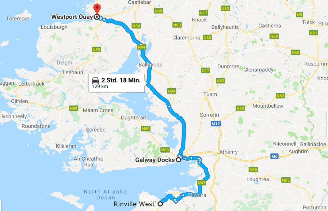 Rinville West - Galway - Westport Quay