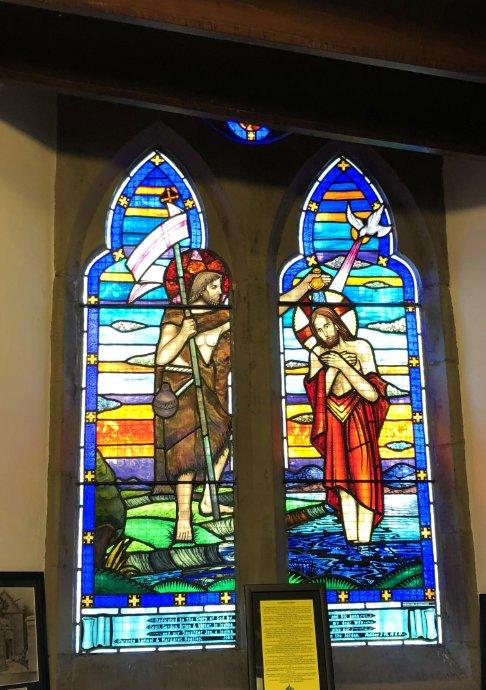 Fenster in der Kirche