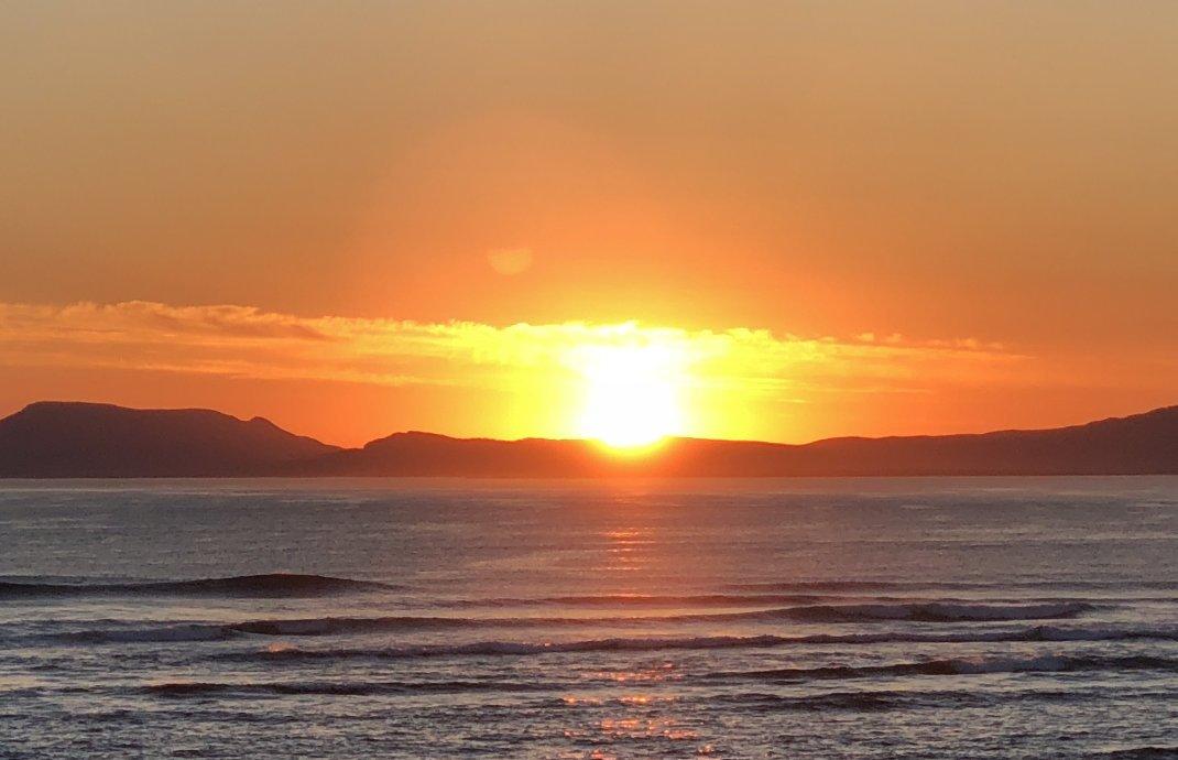 Sonnenuntergang in Bundoran