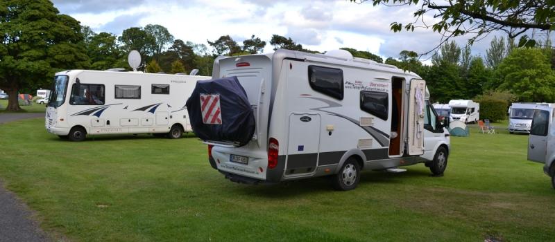 Campingplatz Morton Hall in Edinburgh