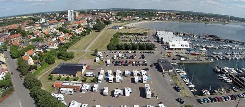 Wohnmobilstellplatz Höganäs