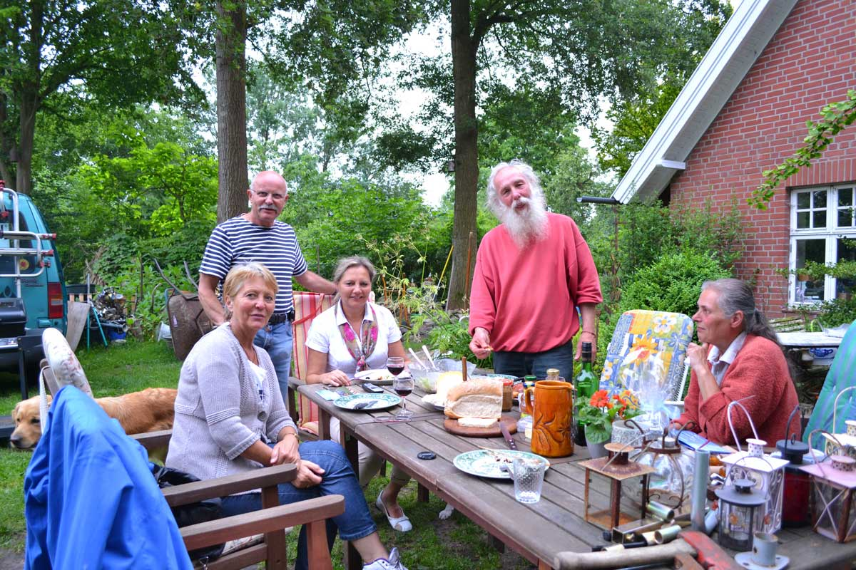 Grillabend bei Anne und Bernd in Gronau