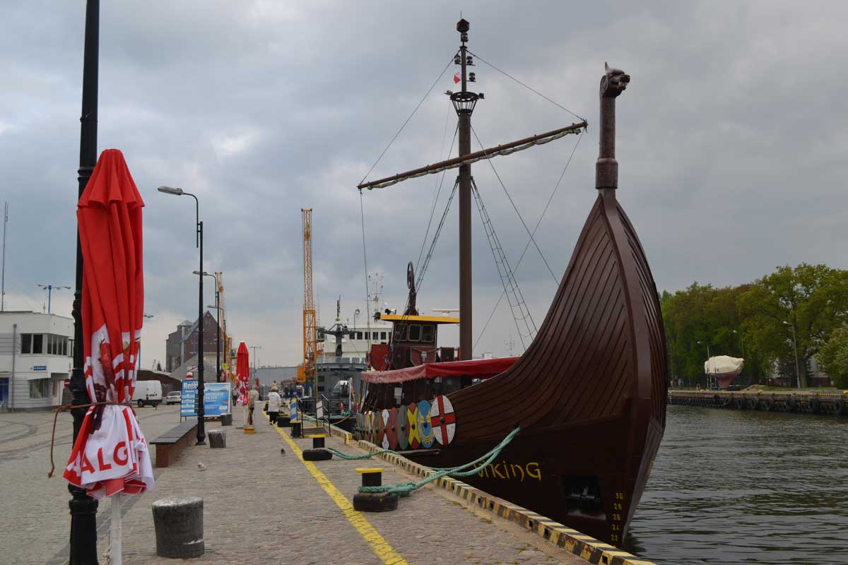 Ausflugsschiff Viking