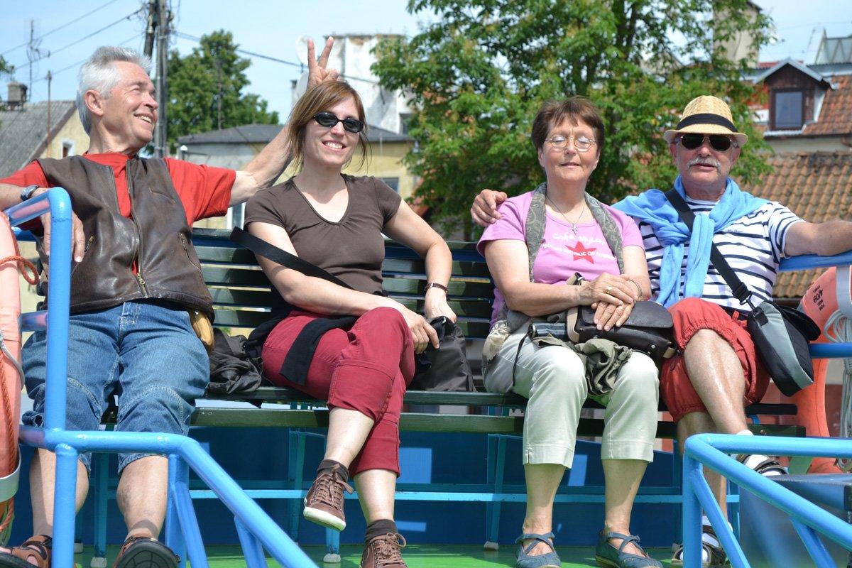 Eine lustige Seefahrt (Lothar, Maja, Eva,Frederick)